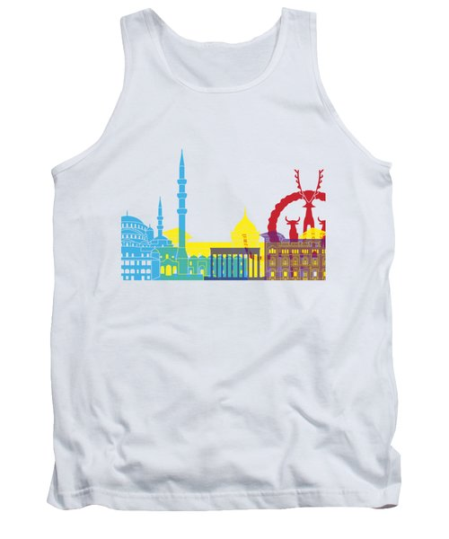 Ankara Skyline Pop Tank Top