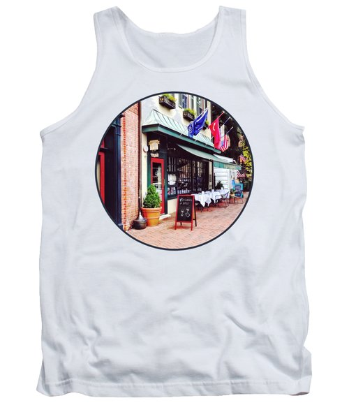 Annapolis Md - Restaurant On State Circle Tank Top