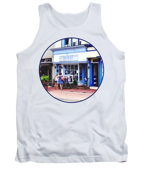 Annapolis Md - Shopping On Main Street Tank Top