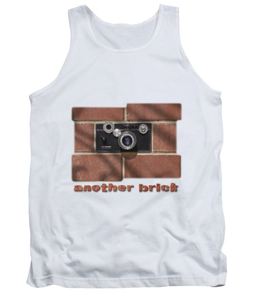 Tank Top featuring the drawing Another Brick . . 2 by Mike McGlothlen