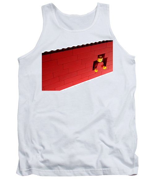 Tank Top featuring the photograph Another Brick In The Wall by Mark Fuller