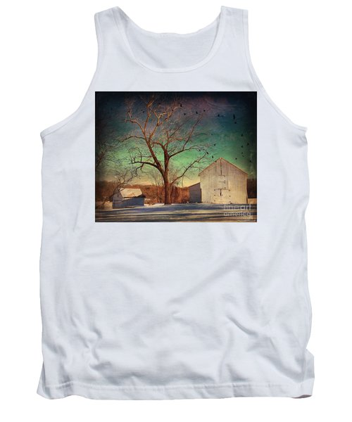 Tank Top featuring the photograph Another Winter Day  by Delona Seserman
