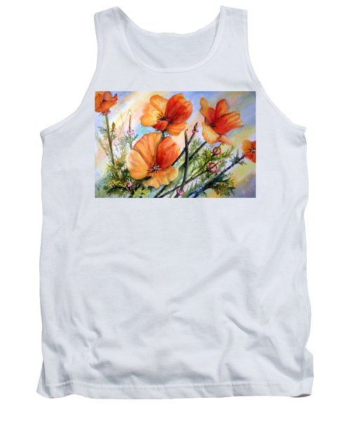 Antelope Valley Poppy Fields Tank Top