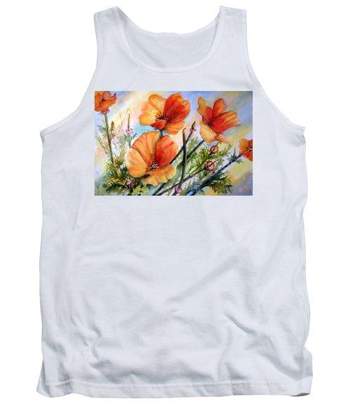 Antelope Valley Poppy Fields Tank Top