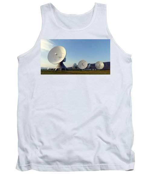 Antenna Array 2 Of The Earth Station  Tank Top