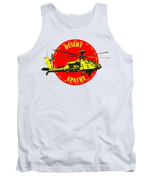 Apache On Desert Tank Top