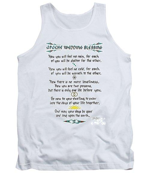 Apache Wedding Blessing Tank Top