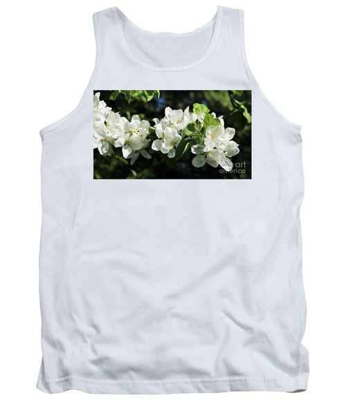 Apple Blossoms 2017 Tank Top by Marjorie Imbeau