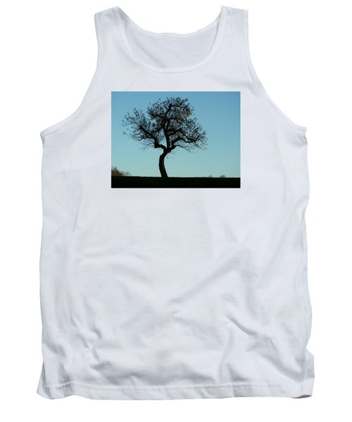 Apple Tree In November Tank Top by Ernst Dittmar
