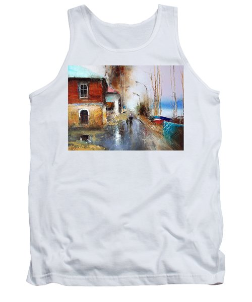 April. The River Volga Tank Top