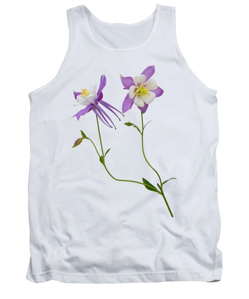 Tank Top featuring the photograph Aquilegia Specimen by Jane McIlroy