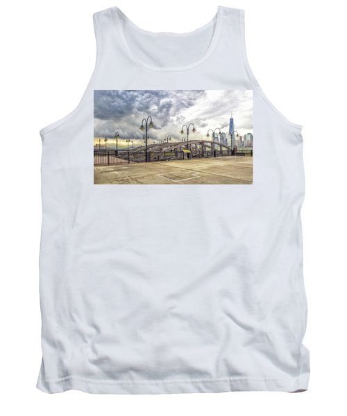 Arc To Freedom One Tower Image Art Tank Top