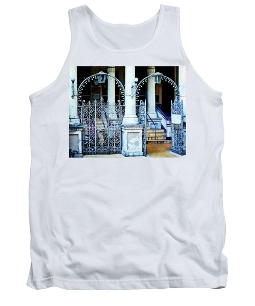 Arched Entrance In Mumbai Tank Top by Marion McCristall