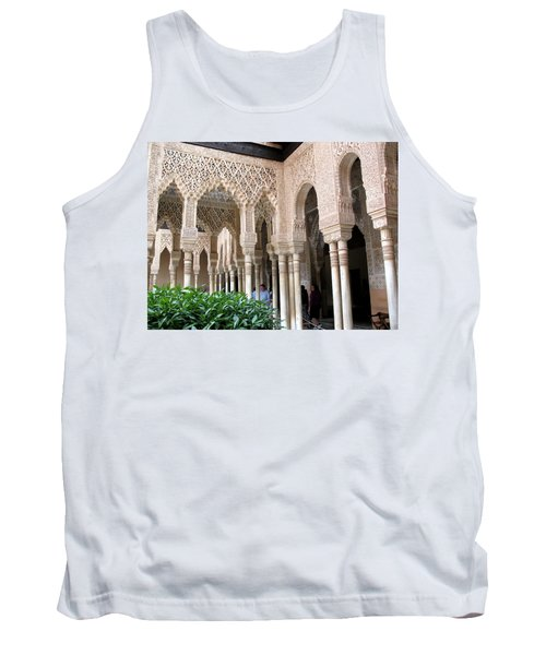 Arches And Columns Granada Tank Top by Jacqi Elmslie