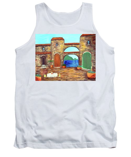 Arches Of Amalfi  Tank Top