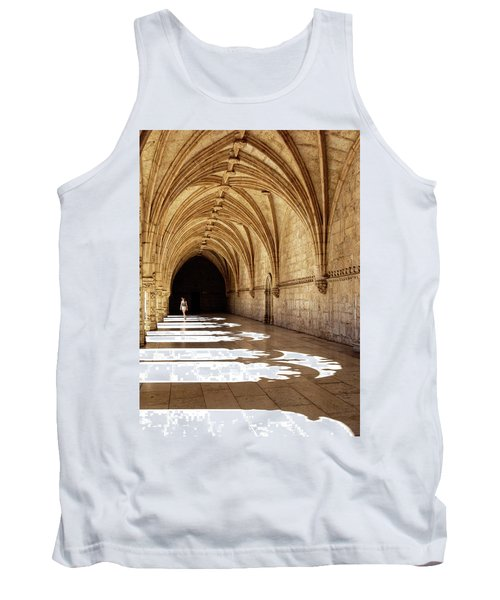 Arches Of Jeronimos Tank Top by Marion McCristall