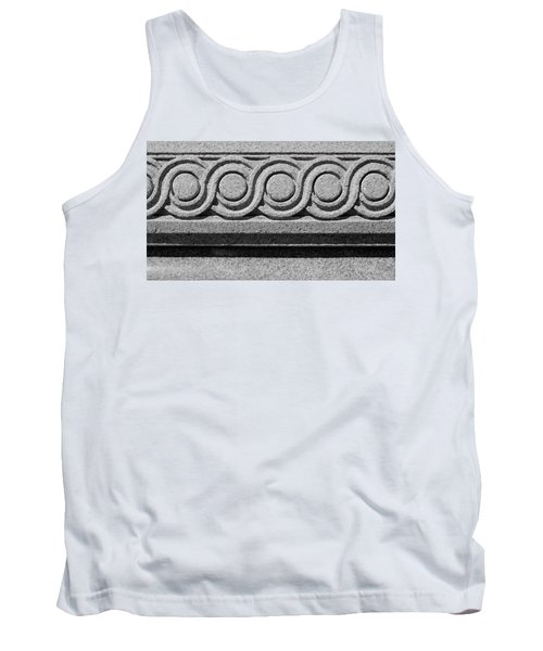 Architectural Detail No. 1 Tank Top by Sandy Taylor