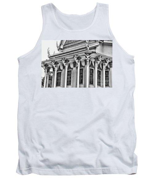 Architecture Black White Tank Top