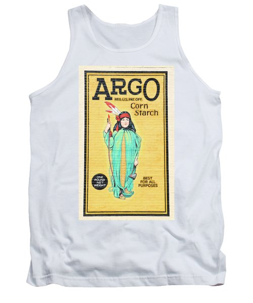Argo Corn Starch Wall Advertising Tank Top
