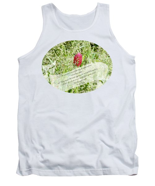 Army Of One - Quote Tank Top