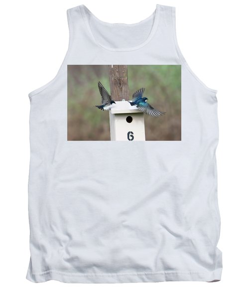 Arrival And Departure Tank Top by Gary Wightman