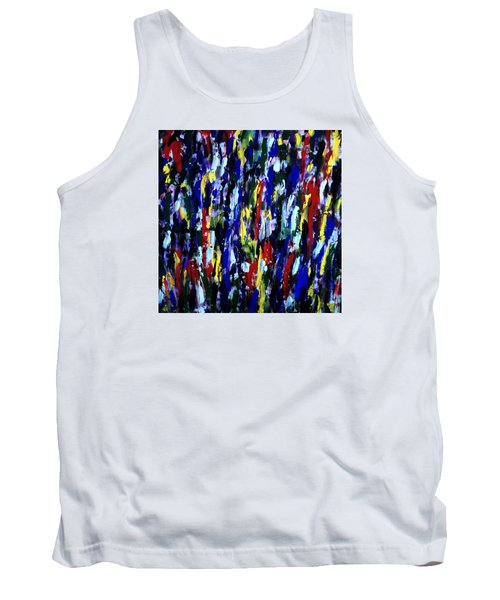 Art Abstract Painting Modern Color Tank Top