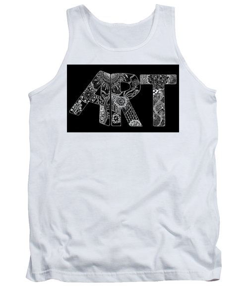 Art Within Art Tank Top by Samantha Thome
