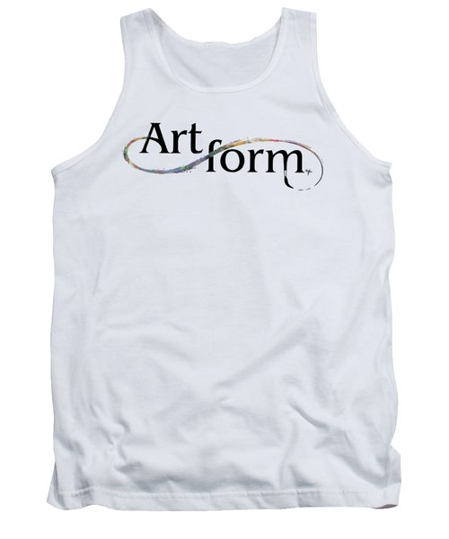 Tank Top featuring the drawing Artform02 by Arthur Fix