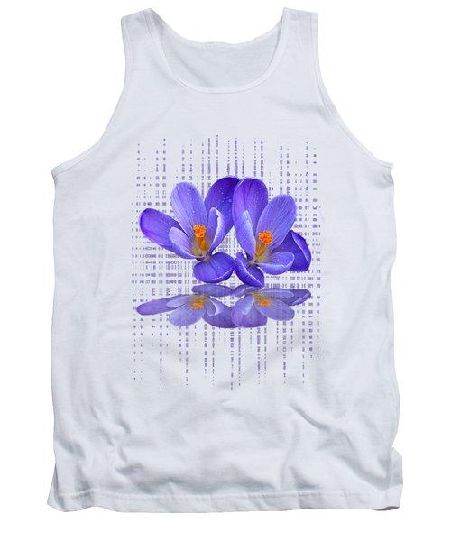 Purple Rain - Vertical Tank Top