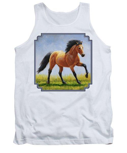 Buckskin Horse - Morning Run Tank Top