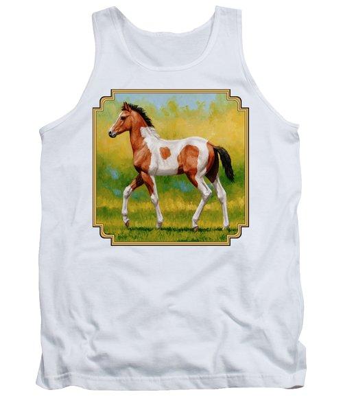 Bay Pinto Foal Tank Top