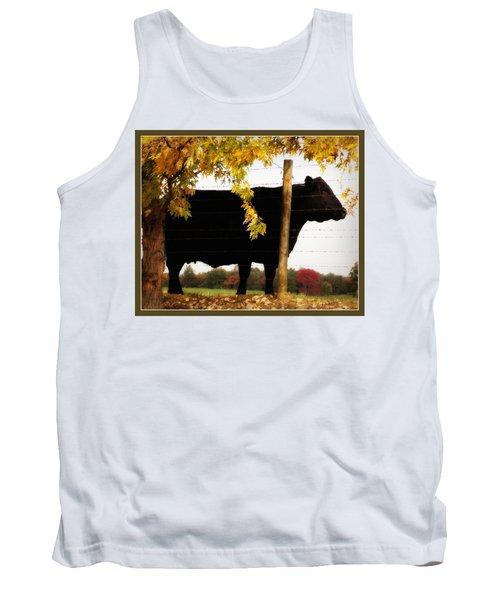 Cow Majesty Tank Top