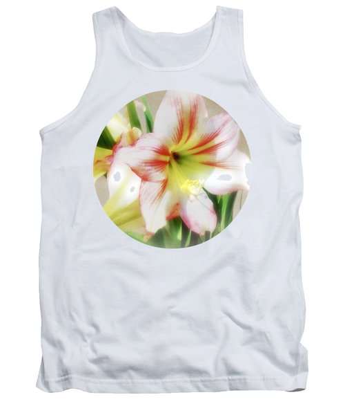 Amaryllis By Morning Tank Top