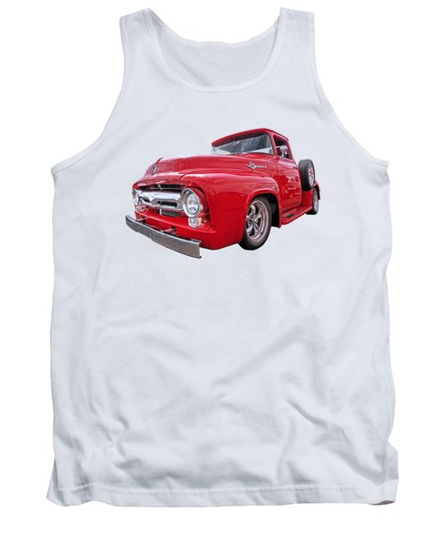 Red F-100 Tank Top