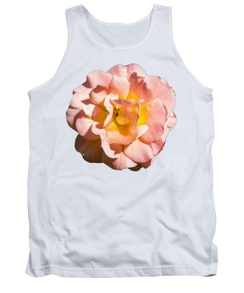 Peach Rose Tank Top