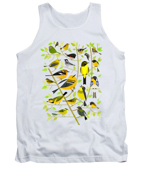 Warblers 1 Tank Top by Scott Partridge