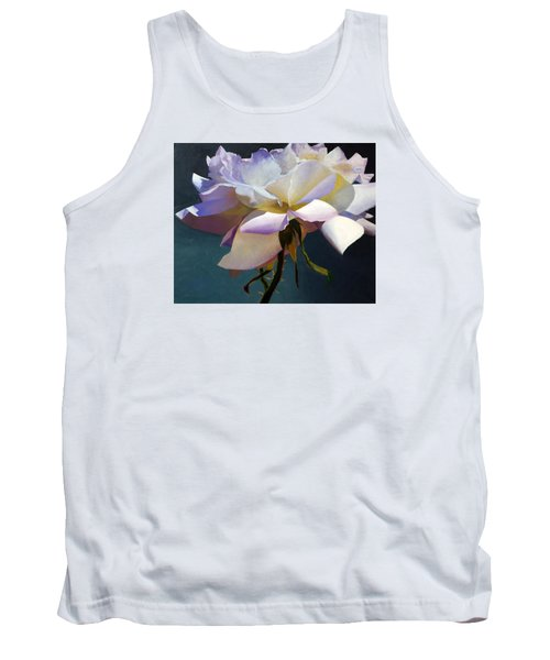 White Rose Of Eden Tank Top