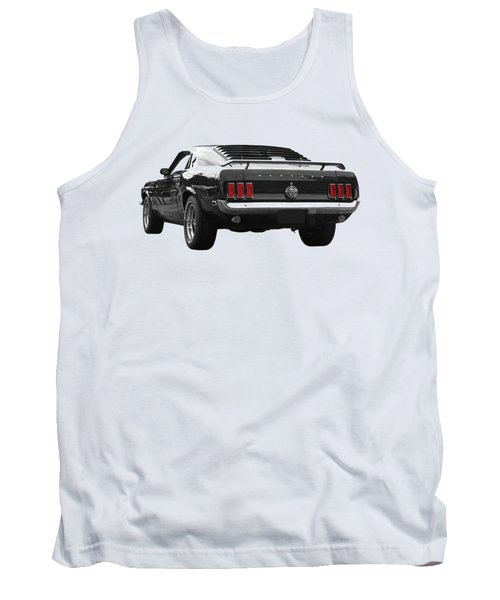 Rear Of The Year - '69 Mustang Tank Top