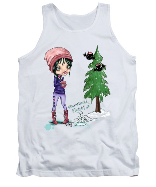 Snowball Fight Tank Top