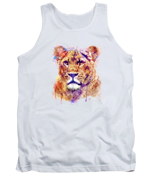 Lioness Head Tank Top
