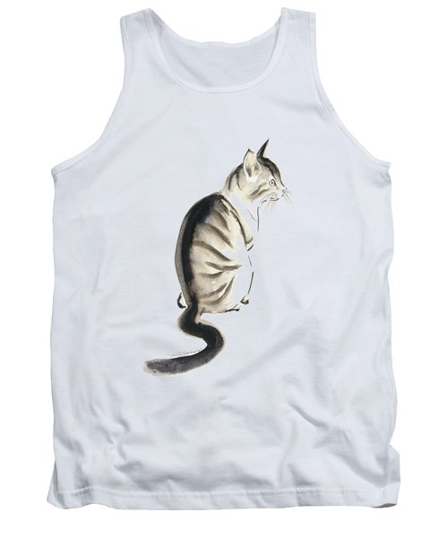Cat Art 2 Tank Top