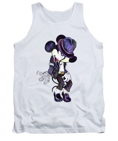 Mickey Mouse-michael Jackson Tank Top