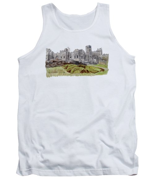 Castle Ward Tank Top by Angeles M Pomata