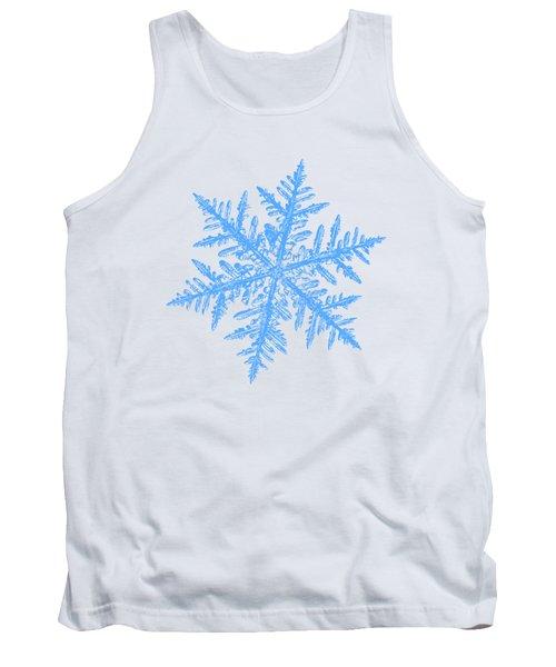 Snowflake Vector - Silverware White Tank Top
