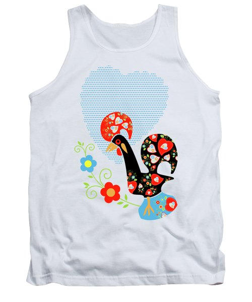 Portuguese Rooster Tank Top