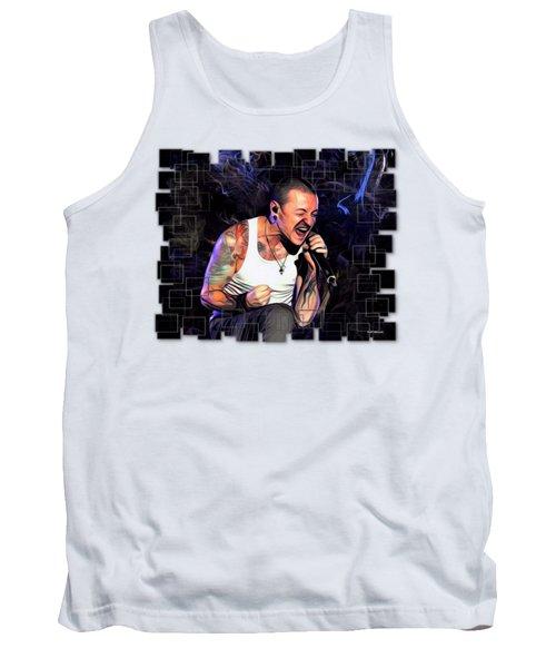 Chester Bennington From Linkin Park  Tank Top