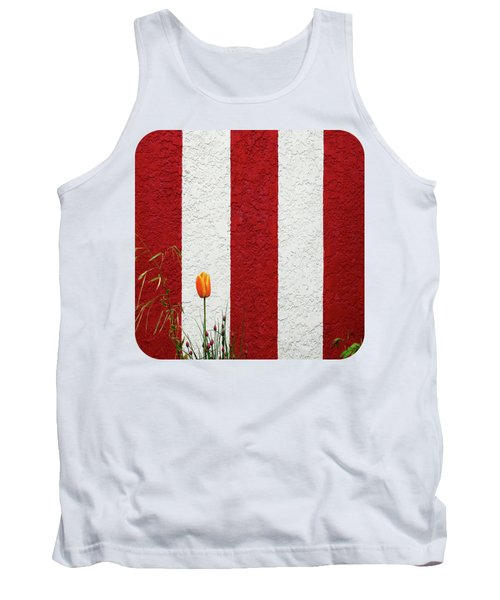 Tank Top featuring the photograph Temple Wall by Ethna Gillespie