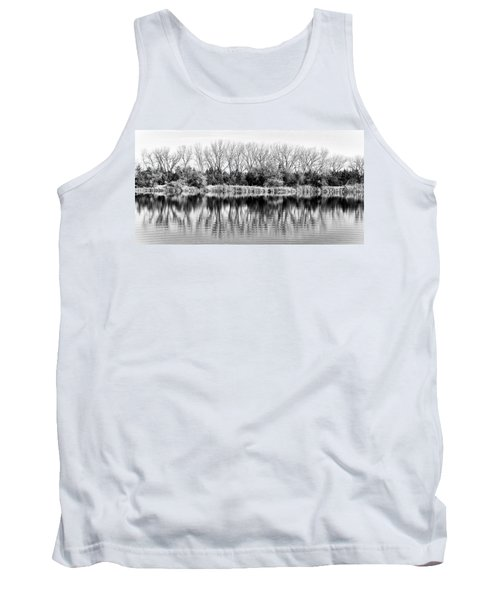 Tank Top featuring the photograph Rippled Reflection by Bill Kesler