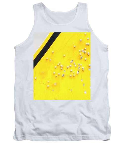 Tank Top featuring the photograph That's Not Braille by Bill Kesler