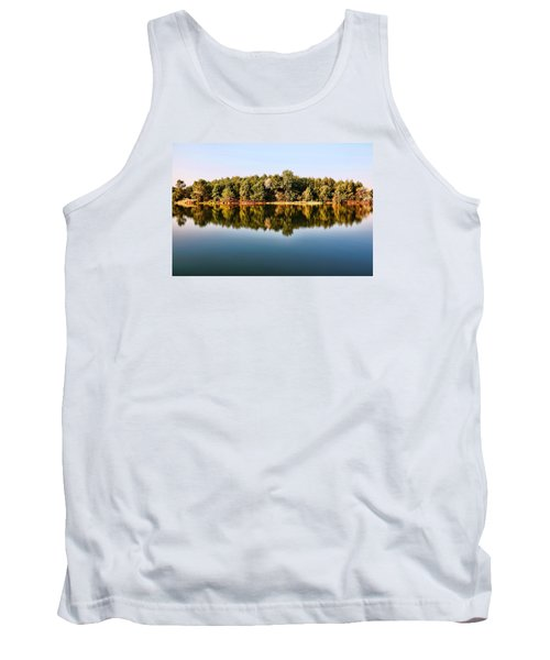 Tank Top featuring the photograph When Nature Reflects by Bill Kesler